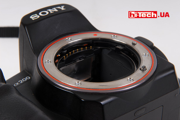 Sony Alpha DSLR-A200. <a href=