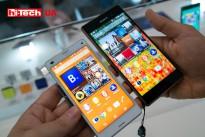 Sony Xperia Z3 и его уменьшенная версия Sony Xperia Z3 Compact. Отличия только в размерах экрана