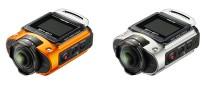 Экшен-камера Ricoh WG-M2 доступна в оранжевом и серебристом цветовых исполнениях