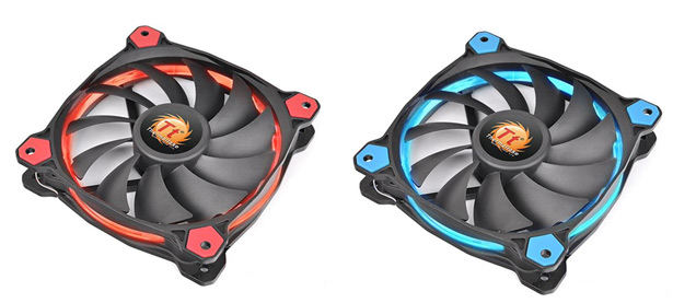 Подсветка Thermaltake Riing Silent 12 Red/Blue