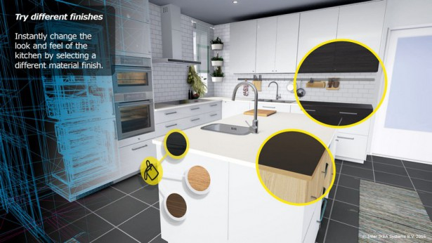 IKEA HTC Vive kitchen 1