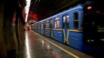 metro qr klovskaya underground kyiv