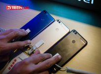 Huawei P Smart в золотистом, синем и черном корпусах