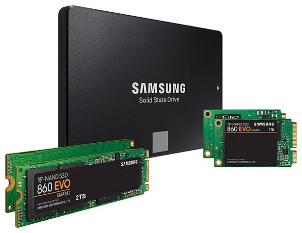 Samsung SSD 860 PRO EVO 1