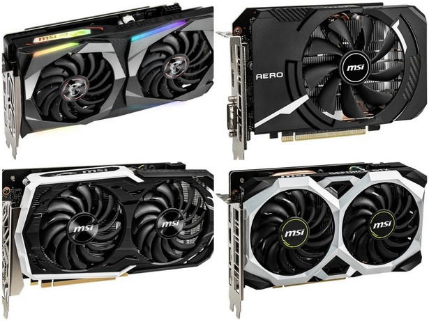 msi nvidia geforce gtx 1660