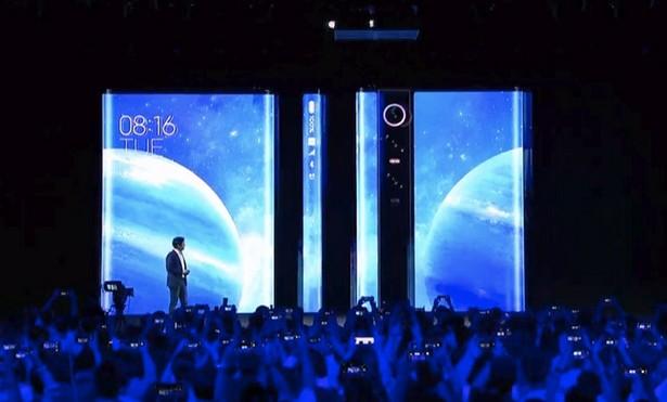 ивент Xiaomi Mi Mix Alpha