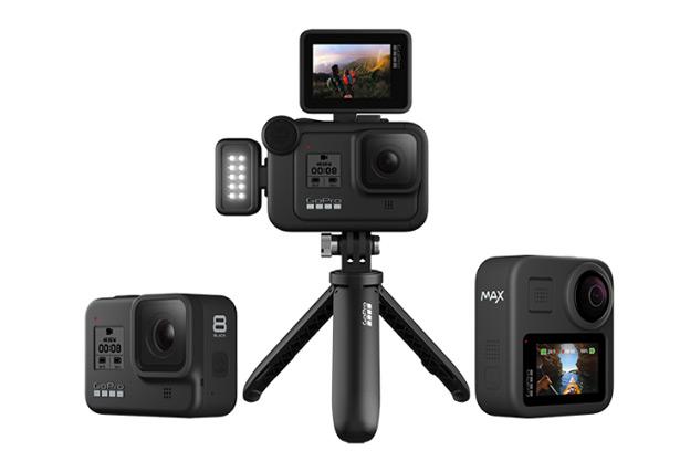 GoPro HERO8 Black, GoPro MAX и аксессуары Mod