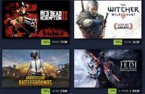 Зимняя распродажа игр в Steam