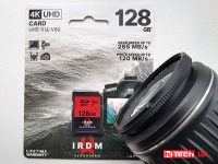 irdm sd 128 gb pro