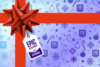 Новогодняя распродажа и бесплатные игры в Epic Games Store