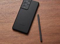Samsung Galaxy S21 black S Pen