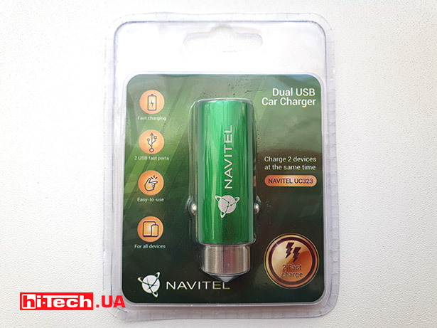 Navitel Dual USB Charger