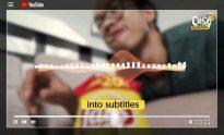 YouTube subs chrome on