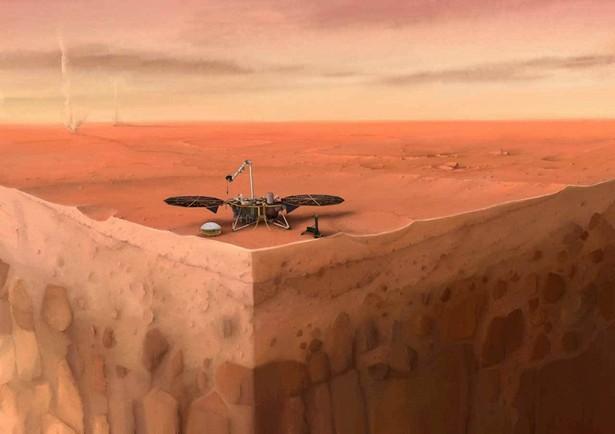 InSight Mars quake