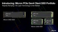 Micron 3400 2450 SSD M2 PCIe GEn4