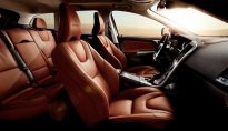 Volvo interior leather
